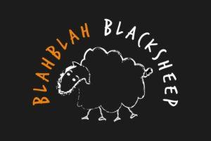 blahblahblacksheep_logo black